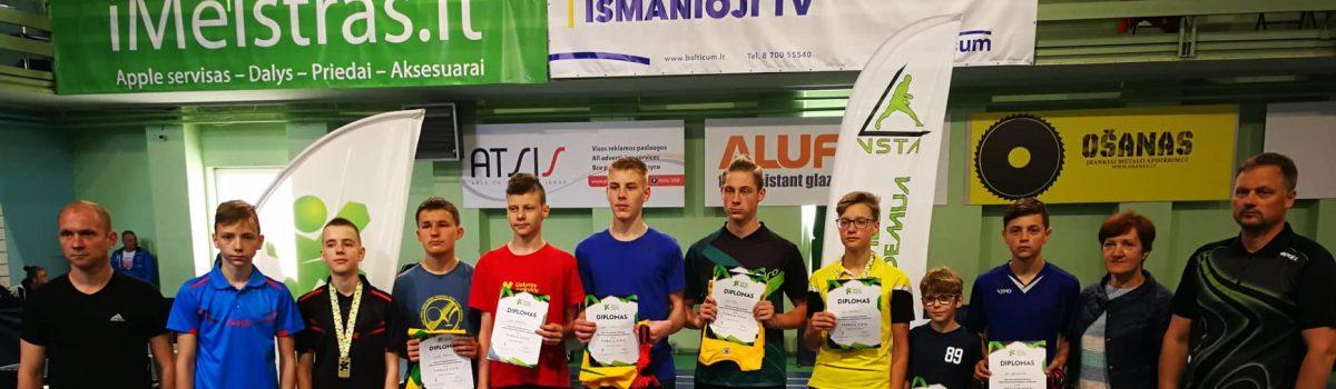 Lietuvos mokyklų žaidynių finaliniai rezultatai
