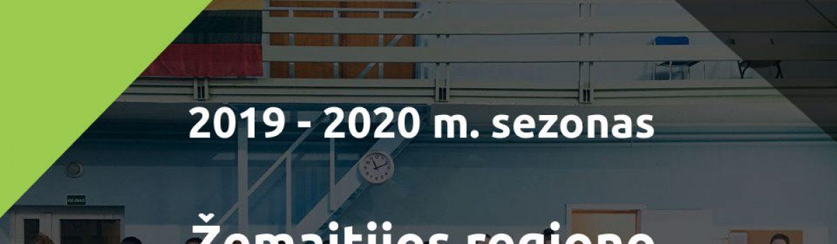 Žemaitijos regiono asmeninių stalo teniso pirmenybių 2019-2020 m. – REGISTRACIJA!