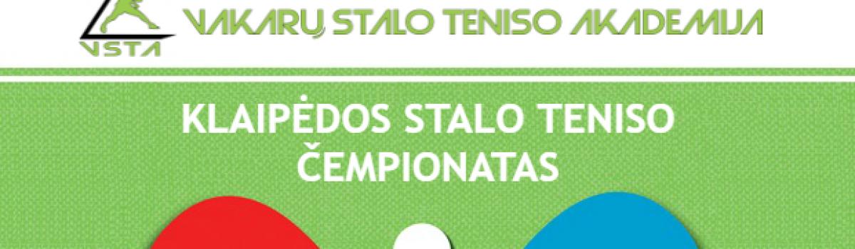 Klaipėdos miesto stalo teniso čempionatas
